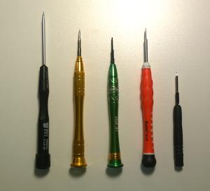 pentalobe screwdrivers