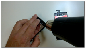 heat gun iphone 4s
